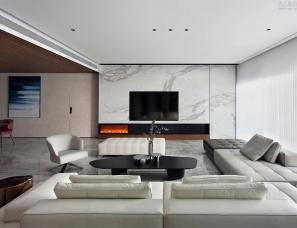 直合设计张鹏峰--石狮卡飒明筑住宅380m²
