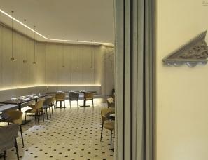 无间设计吴滨新作--梅园春晓餐厅