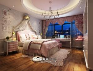 欧式卧室设计效果分享