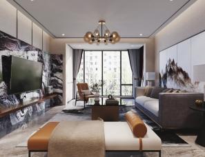 室内设计-新中式设计表现新作