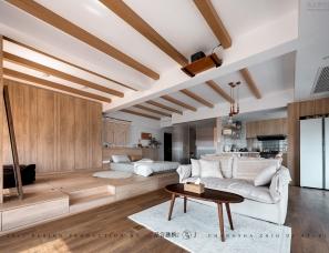 众合建构设计--长沙湘熙水郡一居室私宅