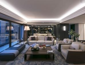 DIA丹健国际设计--上海华侨城苏河湾 62-63F 空中别墅