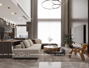 芷诺设计|130㎡现代轻奢私宅,诠释不一样的高级!
