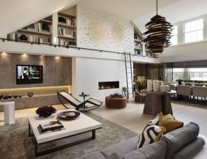 Helen Green设计--Penthouse Apartment, Belgravia