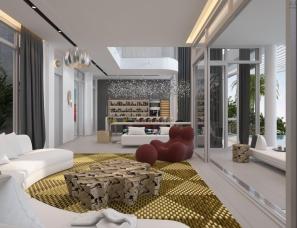 孟也设计--三亚钻石海岸S3A别墅500m²设计方案