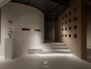 菲拉设计  「MONTO微水泥体验馆」至上主义
