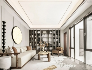 VBD设计+元禾大千--武汉中设众安双屿大观别墅样板间500㎡