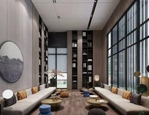 深圳派尚设计--武汉云湖湾一期销售中心