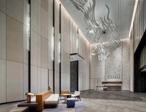 万景百年设计--杭州奥克斯中心皇冠假日酒店
