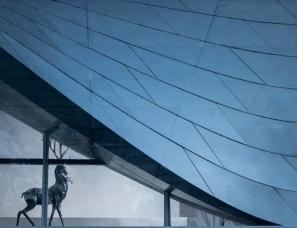 于舍设计于昭--华润南京湾艺术中心售楼处