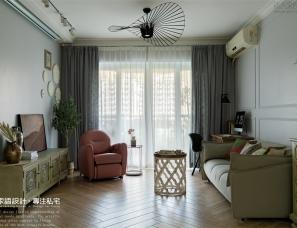 133㎡乡村风私宅 | 打造一个精致、怀旧的三口之家!