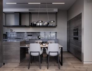 Ruslan Kovalchuk设计--基辅贵族公寓