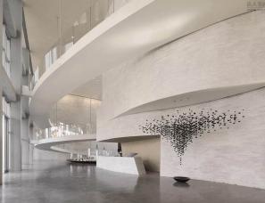 LSDCASA&水相设计--用美术馆刷新售楼处设计
