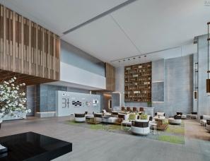 """御山海营销中心设计,全新解读""""空间可持续发展""""理念"""
