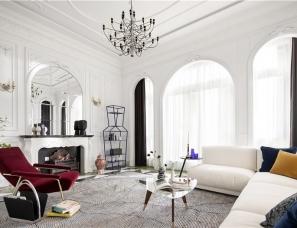 柳绍祖设计--巴黎时尚梦550㎡