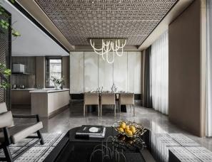 赛拉维设计--天津首创经中·樾香郡下叠样板间