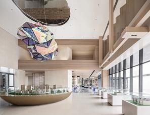 韦高成设计+岳蒙设计--济宁中梁保利·和府售楼处及样板间