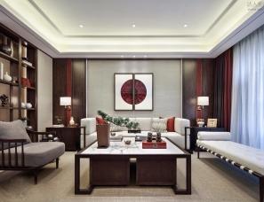柏年印象设计--苏州新中式别墅