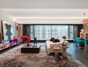 凯达Aedas+安奥拉AN-AURA--深圳中心·天元314m²前卫艺术豪宅