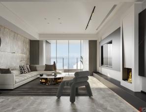 深圳迪尚设计--现代台式,280平里的精致生活