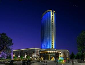 酒店建筑外观设计案例效果图