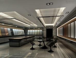 瓷砖专卖店.瓷砖展厅设计案例效果图