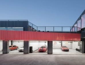 上建下筑设计--北京The Pit House汽车俱乐部