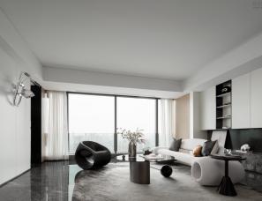 CCD郑中设计+元禾大千--成都新希望D-ONE公寓B6样板间