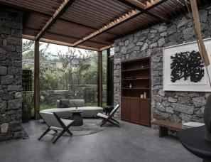 gad · line+ studio--九女峰 · 故乡的云山奢酒店