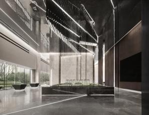 山隐设计+木田设计--沈阳华润置地誉澜颂售楼处
