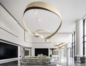 于强室内设计--合肥中海上东区销售中心