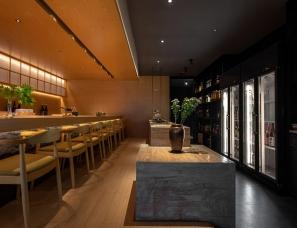 """新概念装饰设计--""""神宫""""日料餐厅"""