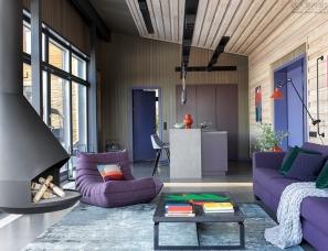BIGO--结合阿尔卑斯山小木屋氛围和丰富的色彩