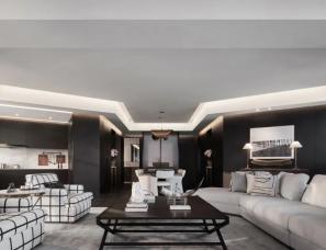 李益中空间设计--无锡东岭锡上J户型公寓