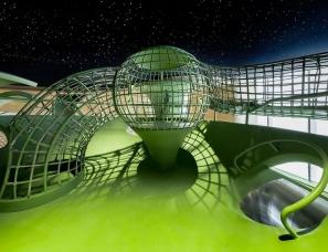 明德设计--银川万科·大都会营销中心儿童区