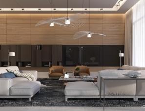 IQOSA INTERIOR设计--Modern house