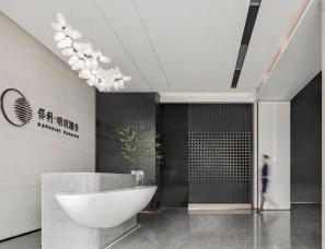UMA伍玛设计--上海崇明保利明玥潮生售楼处