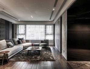 工一设计 --现代黑白灰质感艺术宅