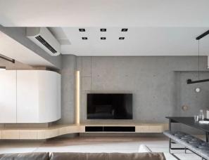 虫点子创意设计--两居室,灯带这样用让家更有型