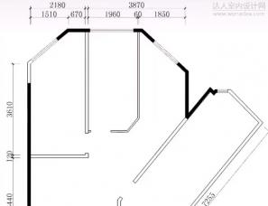 ★★没点平面规划能力做不出来的户型。