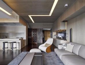 奇逸空间设计--122㎡现代混搭风格住宅