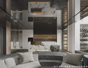 谦禾空间设计 夏日时光 600m2私宅设计