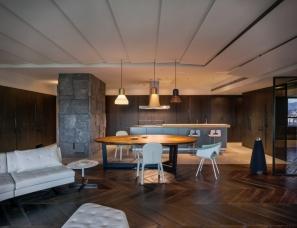 创研空间--Double Core 台北193m²家庭住宅