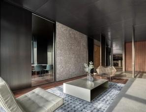 舍社建筑设计汪月梅--西安高新区NEWORLD办公会所900㎡
