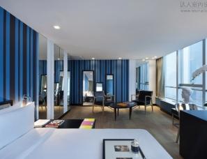 上海爱莎金煦全套房酒店客房 / DARIEL STUDIO