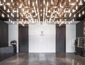 李益中设计--西安万科·翡翠国宾销售中心