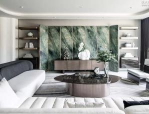 邱德光设计--北京禧瑞春秋南合院别墅样板间857m²