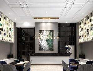 柏舍设计--翡翠蓝湾二期销售中心