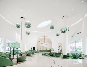GBD杜文彪设计--长沙中海·阅麓山售楼处及会所 追逐捕梦员
