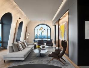 Wheeler Kearns Architects--被艺术品包围的顶层公寓